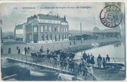 59 ROUBAIX PONT DE LA VIGNE ET RUE DU CARTIGNIE SUP  ANIME - Roubaix