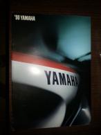 Yamaha Gamma Modelli 1990 Depliant Originale Italiano Factory Sales Brochure Catalog Prospekt - Motor Bikes