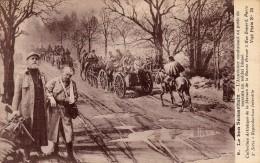 GUERRE 14-18 Le Bon Samaritain, L´Aumônier Conduisant Au Poste De Secours Un Soldat Blessé. - Guerra 1914-18