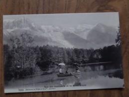 42110 POSTCARD: FRANCE: HAUTE SAVOIE: Lac Des Gaillands Et Le Mont-Blanc. - Frankrijk