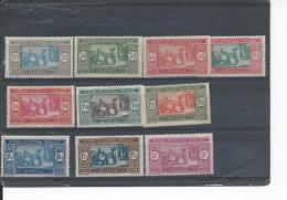SENEGAL  N° 102:109  * T.B. - Senegal (1887-1944)
