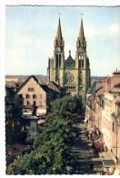 CPM MOULINS - Place D'Allier Et Eglise Du Sacré-Coeur - Moulins