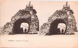 BIARRITZ - Le Rocher De La Vierge - Carte Stéréoscopique - Cartes Stéréoscopiques