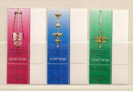 ISRAEL ( D16 - 6887 )   1980  N° YVERT ET TELLIER  N° 764/766    N** - Israël