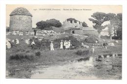 (3069-29) Porspoder - Ruines Du Château De Kérenneur - Otros Municipios