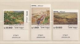 ISRAEL ( D16 - 6912 )   1981  N° YVERT ET TELLIER  N° 786/788      N** - Israel