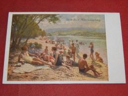 KLOSTERNEUBURG  -  Strandbad    -  1920  -  (2 Scans) - Klosterneuburg
