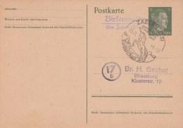 EP MICHEL P298 Obl Illustrée ZABERN Du 9.11.44 + Birkenwald / über Zabern (Els) - Alsace Lorraine