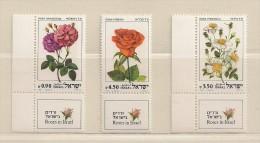 ISRAEL ( D16 - 6935 )   1981  N° YVERT ET TELLIER  N°  806/808      N** - Ongebruikt (met Tabs)