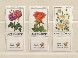 ISRAEL ( D16 - 6936 )   1981  N° YVERT ET TELLIER  N°  806/808      N** - Israel