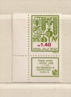ISRAEL ( D16 - 6954 )   1982  N° YVERT ET TELLIER  N°  828     N** - Israel