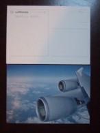 Lufthansa Airlines Carte Postale