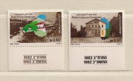 ISRAEL ( D16 - 6959 )   1982  N° YVERT ET TELLIER  N°  834/835     N** - Israel
