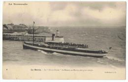 LeFélix Faure    Au Havre  Par Gros Temps    1904 - Cargos