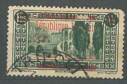 "YA13 Lebanon RARE Postmark: 1925 "" TRIPOLI "" GLC Type - 2p Ovpt Stamp - Lebanon"
