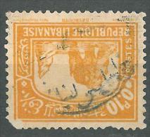 """YA13 Lebanon RARE Postmark: 193 """" TRIPOLI """" Circular - 0p10 Stamp - Libanon"""