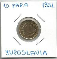 C4 Yugoslavia 10 Para 1991. - Joegoslavië