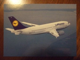Lufthansa Airlines Carte Postale - 1946-....: Era Moderna
