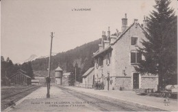 Cantal :  LE   LIORAN : La  Gare  Et Le  Puy  Griou - Unclassified
