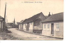 CONTAY  Rue Du Château - France