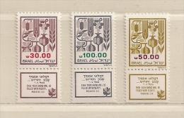 ISRAEL ( D16 - 7019 )   1984  N° YVERT ET TELLIER  N° 904/906      N** - Israel