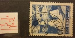 "YA13 Lebanon RARE Postmark: 1965 "" BEIT CHEBAB "" Circular Type - 65p AFKA Stamp - Lebanon"