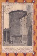 1 Cpa Chazelles Sur Lyon Le Chateau - Autres Communes