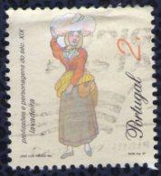 Portugal 1997 Oblitéré Used Stamp Professions Et Personnages Blanchisseuse Lavadeira - Oblitérés