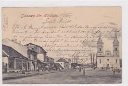 Romania - Salutare Din Nascudu - Nasaud - Jud. Bistrița Năsăud - Roumanie