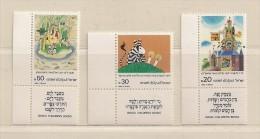 ISRAEL ( D16 - 7044 )   1984  N° YVERT ET TELLIER  N° 922/924    N** - Israel