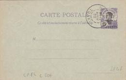 Indochine - Entier Carte ACEP CP 14 - Cote 50 Euros - Femme Annam - Stationery Ganzsache - Haiphong Tonkin - Briefe U. Dokumente