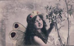 Femme Papillon Litho (1760) - 1900-1949