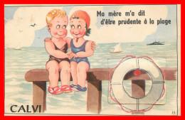 Calvi Carte Système ( Scan Recto Et Verso ) - Calvi