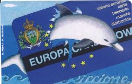 SAN MARINO C&C C7002 - Golden 34 NUOVA (mint) Europa Card Show - San Marino