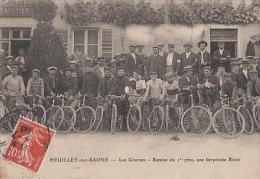 HEUILLEY SUR SAONE         LES COURSES. REMISE DU 1 ER PRIX. UNE BICYCLETTE RICOT - Autres Communes