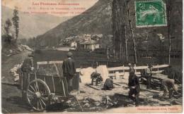 GRTL 0A : Vallée De Vicdessos Siguer Les Ardoisières, Chargement De L'ardoise - Frankrijk