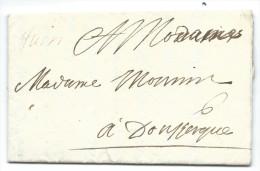 """L. 1696 Avec Manuscrit """"Tuin"""" (Thuin) + """"6"""" Pour Dunkerke.  RR - 1621-1713 (Pays-Bas Espagnols)"""