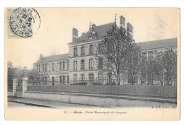 (3114-45) Gien - Ecole Municipale De Garçons - Gien