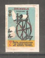 Viñeta De Orihuela  Feria Textil - España