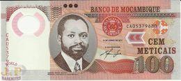 MOZAMBIQUE 100 METICAIS 2011 PICK 151 POLYMER UNC - Mozambique