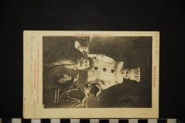 CP, METIERS POLICE - GENDARME Pierrot Avocat N° 9 Dos Simple Voyagé En 1902 - Policia – Gendarmería