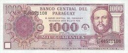 PARAGUAY 1000 GUARANIES 2002 PICK 221 UNC - Paraguay