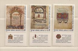 ISRAEL ( D16 - 7094 )   1986  N° YVERT ET TELLIER  N°  986/988    N** - Israël