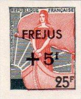 """MARIANNE A LA NEF 1959 - 25F Surchargé """"Fréjus"""" ND (N°1229**) - 1959-60 Marianne à La Nef"""