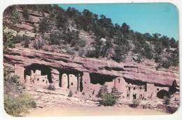 Manitou Cliff Dwellings In Phantom Cliff Canon Near Manitou Springs In The Pikes Peak Region, Colorado - Etats-Unis