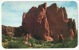 Scene Of The Interior Of The Garden Of The Gods, Pikes Peak Region, Colorado - Etats-Unis