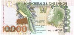 S. THOMAS E PRINCE 10000 DOBRAS 2004 PICK 66b UNC - São Tomé U. Príncipe