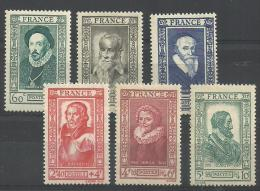 FRANKRIJK 587/592  Xx ( YVERT ) COTE : 15 EURO ( F ) - Unclassified