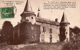 Le Poiré Sur Vie : Le Château De La Métairie - Poiré-sur-Vie
