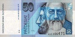 SLOVAKIA 50 KORUN 2002 PICK 21b UNC - Slovakia